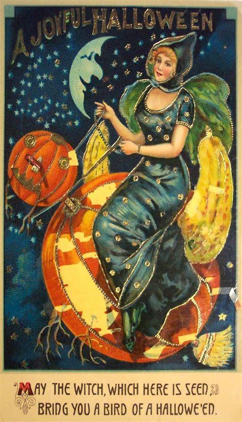 vintage halloween postcard pictures   images