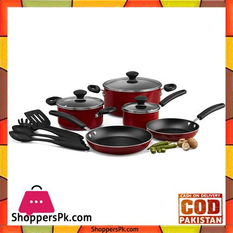 cookware prestige stick non piece pakistan sets