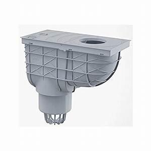 Bac De Récupération D Eau : bac de r cup ration d 39 eau de pluie pour tuyaux de descente 300 155 110 vertical gris ~ Melissatoandfro.com Idées de Décoration