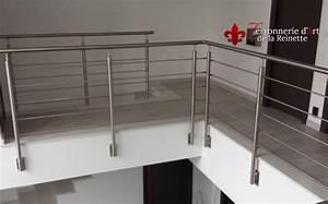 Garde Corps Terrasse Inox : garde corps sur mesure en inox saint tropez ferronnier var 83 ferronnerie d 39 art la reinette ~ Melissatoandfro.com Idées de Décoration