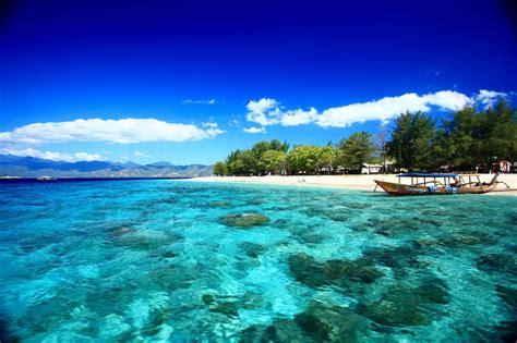 gili trawangan pulau eksotis tujuan obyek wisata favorit