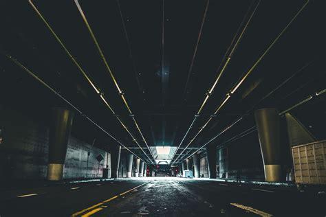 picture tunnel dark urban architecture bridge