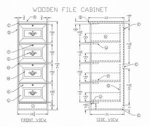 wood file cabinet plans free woodideas
