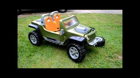 power wheels jeep 90s jeep hurricane power wheels up close youtube