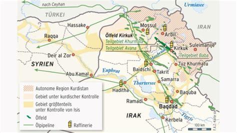 irak kurden sichern sich oelgebiete