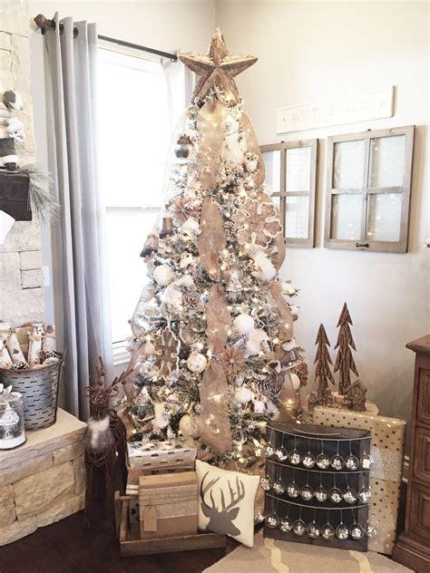 rustic christmas mantel decor ideas