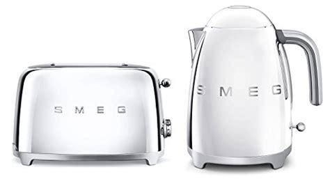 teal kettle and toaster set smeg tsf01ssuk klf01ssuk 50s retro style 2 slice toaster