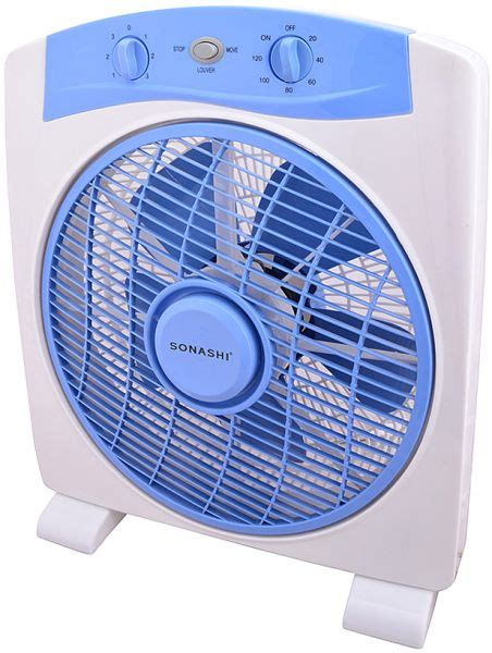 box fans on sale sonashi 12 quot box fan white sbf 7027 price review and buy