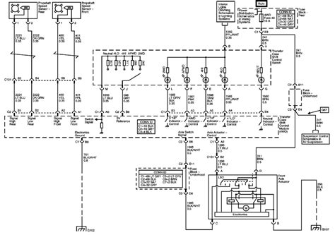 2002 Gmc Envoy Transmission Wiring Diagram by 4wd Service Light On 4wd Works Possible C0379 Code