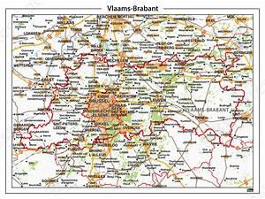 Natuurkundige Kaart Vlaams