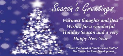 center  rural development happy holidays