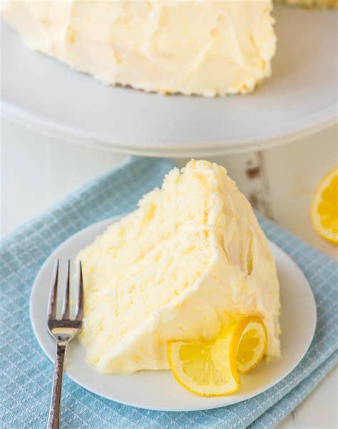 recipes with lemon lemon layer cake with lemon cream cheese frosting recipe dishmaps