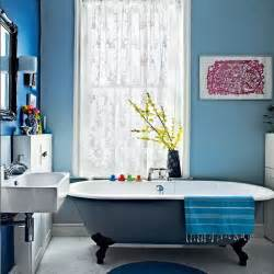 blue bathrooms decor ideas modern blue bathroom bathroom decorating ideas bathroom housetohome co uk