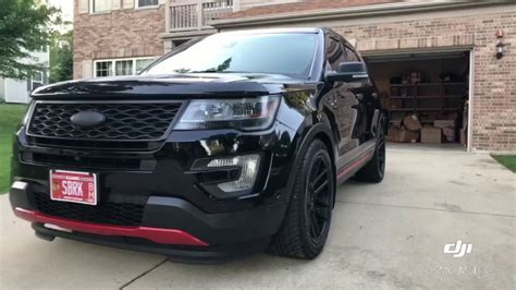 Platina Modified by Modified 2016 Ford Explorer Platinum Edit