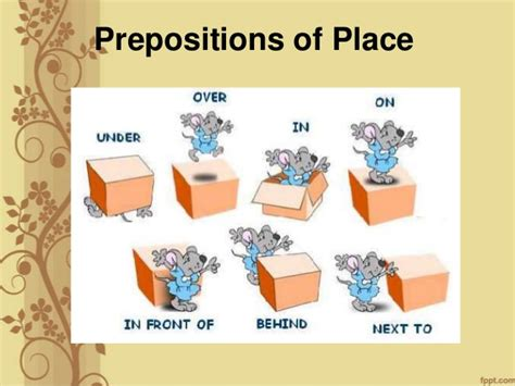 prepositions giving directions exercises asking giving