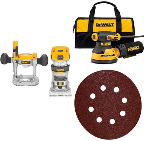 day deal dewalt woodworking power tool bundle