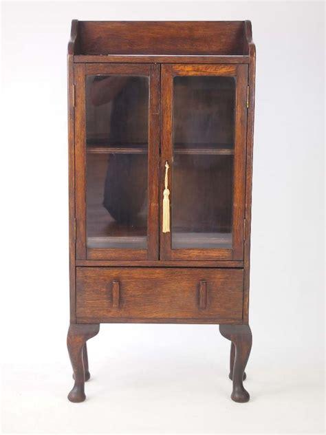 Bookcase Vintage by Small Vintage Oak Bookcase