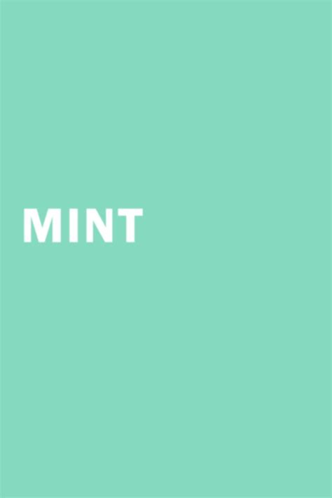 color mint just mint design color mint color mint green