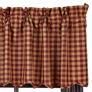 Check Scalloped... Country Curtains