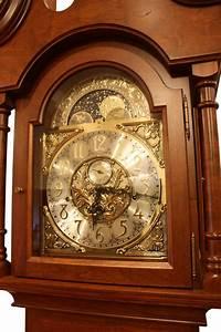 Winchester Grandfather Clock Ohio Hardwood Upholstered