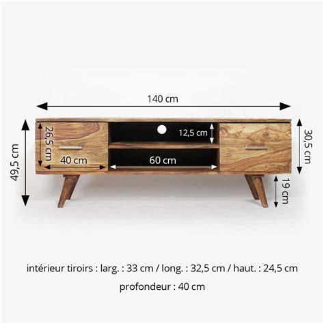table bar pour cuisine meuble tv scandinave 2 tiroirs en bois made in meubles