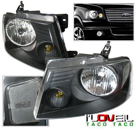 2007 ford f150 lights 2004 2007 ford f150 lights headlights black