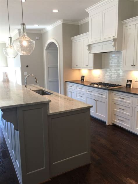 sw alabaster cabinets mystic grey satin brushed granite