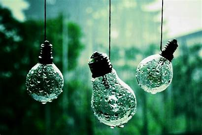 Bulb Wallpapers Hanging Rain Bulbs Backgrounds Background