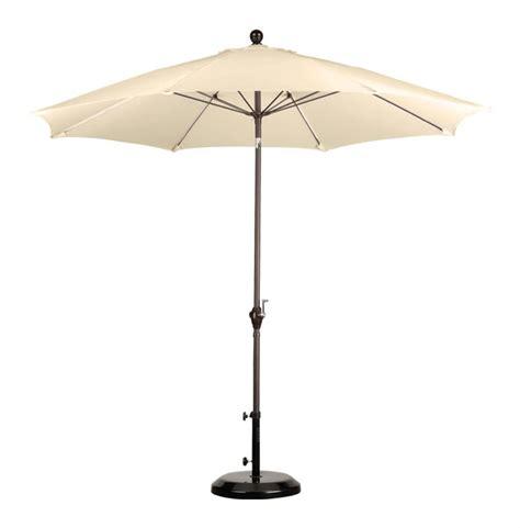 antique beige patio umbrella 9 canopy
