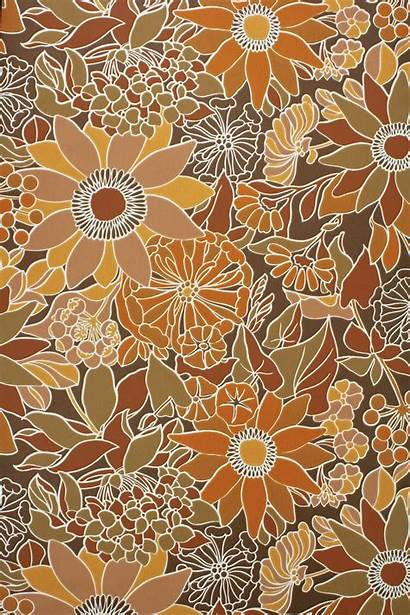 70s Wallpapers Aesthetic Floral 70 Retro Hippie