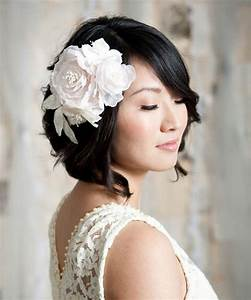 Wedding Hairstyles For Short Hair Dipped In Lace