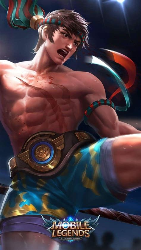 chou mobile legend thai boxing chou mobile legends