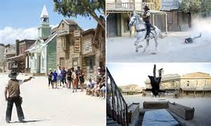 spains wild west  fort bravo texas hollywood