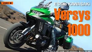 Essai Kawasaki Versys 1000 : trail essai vid o de la nouvelle kawasaki versys 1000 2019 ~ Medecine-chirurgie-esthetiques.com Avis de Voitures