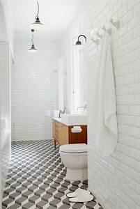 Carrelage Et Salle De Bain : carrelage salle de bain grise et bois en 37 id es de d co ~ Melissatoandfro.com Idées de Décoration