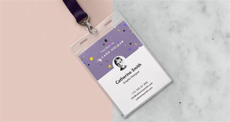 psd identity card holder mockup vol psd mock