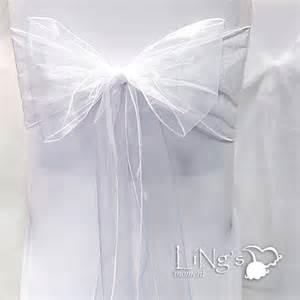 organza chair cover sash bow wedding anniversary party