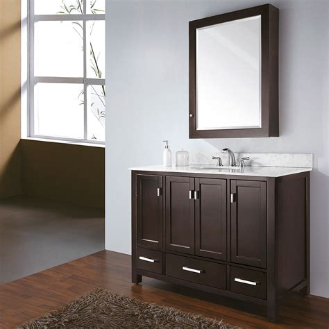 Bathroom Vanity by Avanity Modero 48 Quot Single Bathroom Vanity Espresso