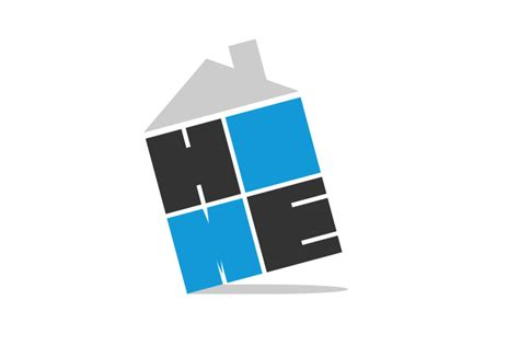 h o m e logo design by alneo on deviantart