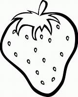 Strawberry Coloring Pages Fresh Strawberries Colouring Clipart Clip Printables Preschool Fruit sketch template