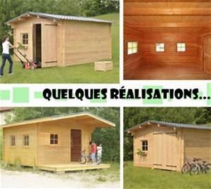 Construire Cabane De Jardin : comment construire cabane en bois cabane jardin bois ~ Zukunftsfamilie.com Idées de Décoration