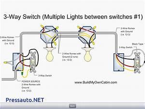 3 Way Light Switch Wiring Viewing Gallery – Pressauto.NET