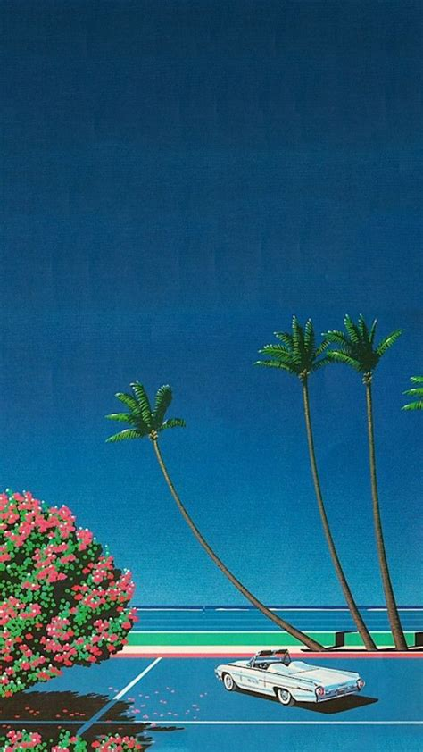 Summer Aesthetic Phone Wallpapers by Phone Wallpapers Curated Vaporwave Wallpaper
