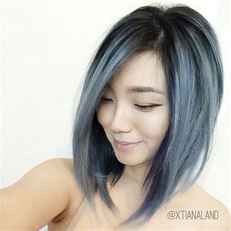 Love This Blue Gray Hair Blue Grey Hair Hair Color Hair