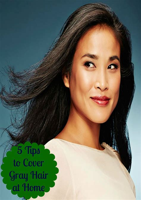 Covers Grey by Remodelaholic 5 Tips To Cover Gray Hair At Home