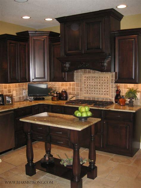 dark cabinets light countertops backsplash custom kitchen cabinets island with granite countertops