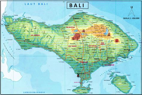 stress praktikum peta pulau bali