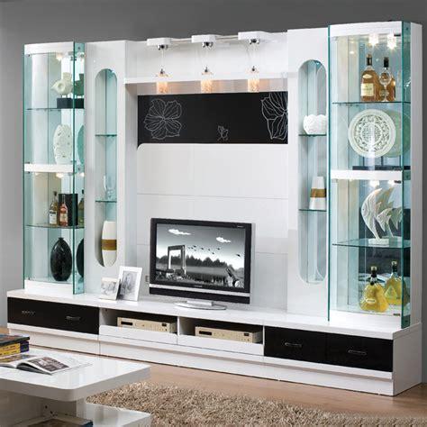 Modern Wooden 55 Inch Tv Wall Unit Design Furniture 101#  Buy Tv Wall Unit Design,wall Unit For