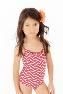 Cute Little Girl One Piece Swimsuits