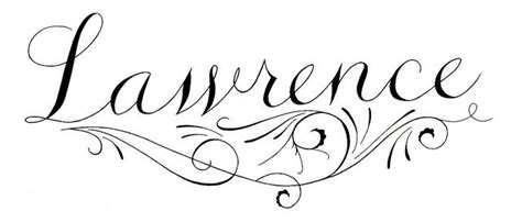 lawrence logo  images lettering calligraphy